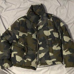 Padded H&M Camo Jacket
